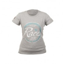 T-SHIRT RST LADY RACE DEPT GREY/TURQUOISE M (0091)