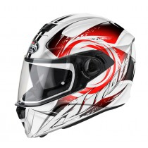 KASK AIROH STORM ANGER RED GLOSS S