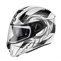KASK AIROH STORM ANGER GREY GLOSS