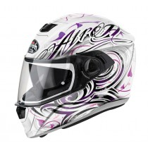 KASK AIROH STORM POISON WHITE GLOSS