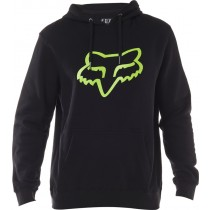 BLUZA FOX Z KAPTUREM LEGACY FOX HEAD BLACK/GREEN XXL