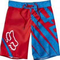 BOARDSHORT FOX JUNIOR SPIKED RED Y22