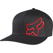 CZAPKA Z DASZKIEM FOX FLEX 45 BLACK/RED