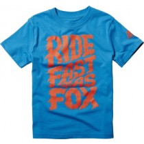 T-SHIRT FOX JUNIOR KIDS ONLY LIQUIFY ELECTRIC BLUE KM