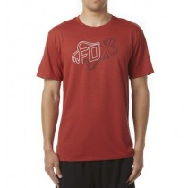 T-SHIRT FOX RIDERS CREW FLAME RED