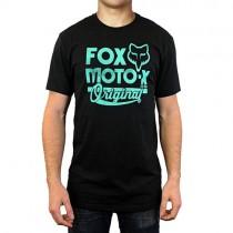 T-SHIRT FOX SCRIPTED BLACK XXL
