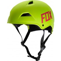 KASK ROWEROWY FOX FLIGHT HARDSHELL FLO YELLOW
