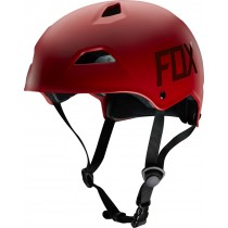 KASK ROWEROWY FOX FLIGHT HARDSHELL RED MATT