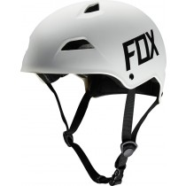 KASK ROWEROWY FOX FLIGHT HARDSHELL WHITE MATT
