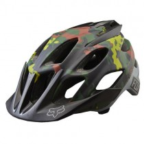 KASK ROWEROWY FOX FLUX FATIGUE CAMO L/XL