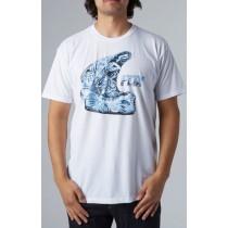 T-SHIRT FOX EXTRACT WHITE XL