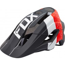 KASK ROWEROWY FOX METAH KROMA RED/BLACK