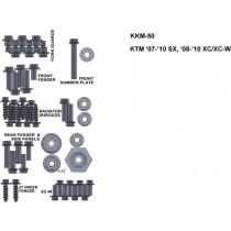 ZESTAW ŚRUB KEITI DO KTM 07-10 SX 08-10 XC/XC-W