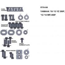 ZESTAW ŚRUB KEITI DO YAMAHA 10-13 YZ 250F 12-14 WR 450F