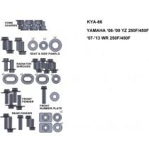 ZESTAW ŚRUB KEITI DO YAMAHA 06-09 YZ 250F/450F 07-13 WR 250F/450F
