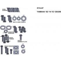 ZESTAW ŚRUB KEITI DO YAMAHA 02-14 YZ 125/250