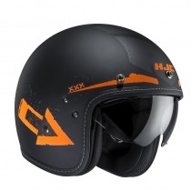 KASK HJC FG-70S TALES BLACK/ORANGE