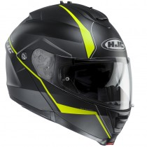 KASK HJC IS-MAX II MINE BLACK/GREEN