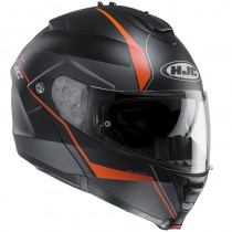 KASK HJC IS-MAX II MINE BLACK/ORANGE