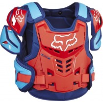 BUZER FOX ADULT RAPTOR VEST BLUE/RED L/XL