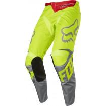 Spodnie motocyklowe FOX 180 RACE YELLOW rozmiar 30/S