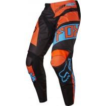 Spodnie motocyklowe FOX 180 FALCON BLACK/ORANGE 30/S