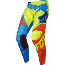Spodnie motocyklowe FOX 180 NIRV YELLOW/BLUE rozmiar 30/S