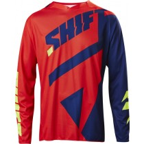 BLUZA SHIFT 3LACK MAINLINE NAVY/RED M