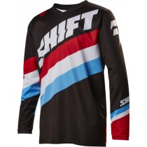 BLUZA SHIFT JUNIOR WHIT3 TARMAC BLACK YL