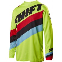 BLUZA SHIFT WHIT3 TARMAC FLO YELLOW