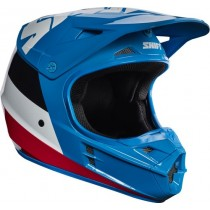 Kask crossowy SHIFT WHIT3 TARMAC BLUE