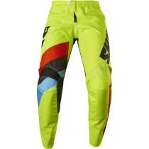 Spodnie motocyklowe SHIFT WHIT3 TARMAC FLO YELLOW rozmiar 28/XS