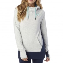 BLUZA FOX LADY Z KAPTUREM EAGER LIGHT HEATHER GREY