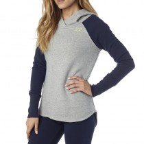 BLUZA FOX LADY Z KAPTUREM TROT HEATHER GREY M