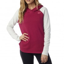 BLUZA FOX LADY Z KAPTUREM TROT BURGUNDY