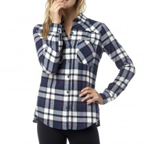 KOSZULA FOX LADY FLOWN FLANNEL INDIGO M