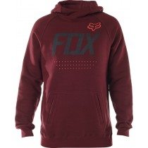 BLUZA FOX Z KAPTUREM ARMADO HEATHER BURGUNDY XL