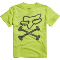 T-SHIRT FOX JUNIOR KIDS LANSING FLO YELLOW KS