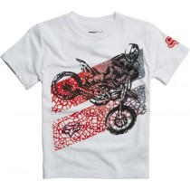 T-SHIRT FOX JUNIOR KIDS ONAGA OPTIC WHITE KM