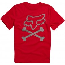 T-SHIRT FOX JUNIOR LANSING FLAME RED YL
