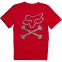 T-SHIRT FOX JUNIOR LANSING FLAME RED YL
