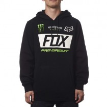 BLUZA FOX Z KAPTUREM MONSTER PADDOCK BLACK XL