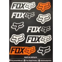 NAKLEJKA FOX A4 FOLIA