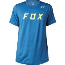 T-SHIRT FOX FLEXAIR MOTH MAUI BLUE