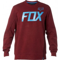 BLUZA FOX KRANK TECH CREW CRANBERRY XL