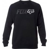 BLUZA FOX LEGACY CREW BLACK S