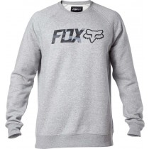 BLUZA FOX LEGACY CREW HEATHER GREY M