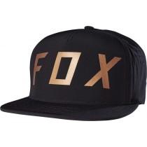 CZAPKA Z DASZKIEM FOX MOTH SNAPBACK BLACK OS
