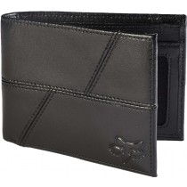 PORTFEL FOX EDGE LEATHER BLACK OS