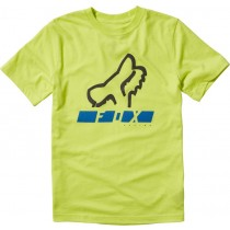 T-SHIRT FOX JUNIOR TRIANGULATE FLO YELLOW YL